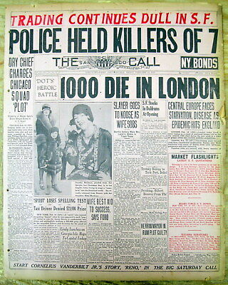 Valentine S Day Massacre Al Capone Chicago Mobsters 2 1929 February