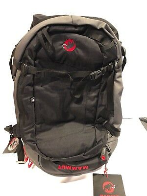 Mammut Pro P.A.S Pack 45L in Black/White Protection Avalanche Airbag