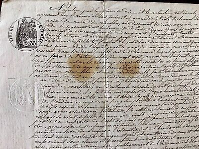 Old Document Mentioning Napoleon