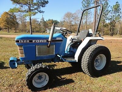 Ford New Holland 1520 Compact Farm/Utility Tractor 20hp  nMississippi NO RESERVE