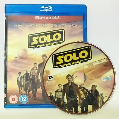 Solo A Star Wars Story 3D Blu-ray Region Free Best Deal Ever