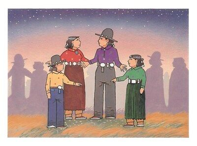 A dozen Notecards by Navajo artist Anthony Emerson, last set