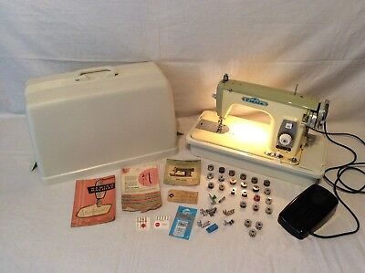 Vintage Cresta DeLuxe Precision Built Sewing Machine