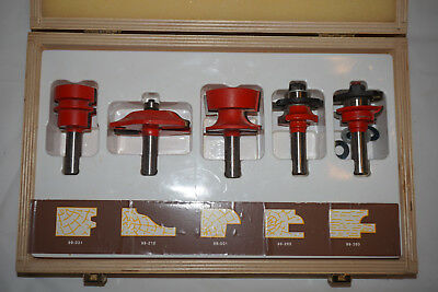 Freud Cabinet Router Bit Set  94-100  Made in Italy