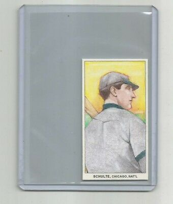 ACEO-FRANK WILDFIRE SCHULTE ORIGINAL1-1-Art-Sketch-Card-Hand-Drawing-1951-BOWM.