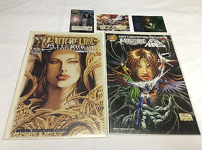 Convention Exclusives (Wizard/top Cow/witchblade/07155) Comic Book Set Lot Of 2