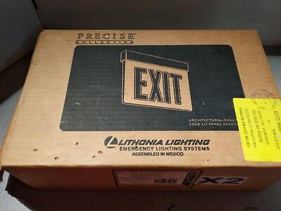 Lithonia Lrp 1 Gmr 120 277 Pnl Led Exit Single Face