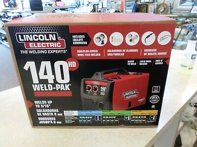 Lincoln Electric 140Hd Weld Pak, K2514-1, Nib