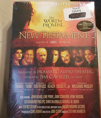 THE WORD OF Promise New Testament NKJV Audio Bible 20 CD Set by