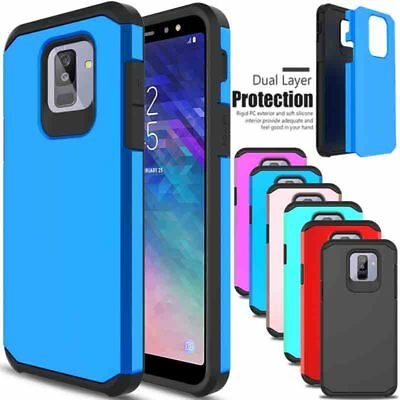 For Samsung Galaxy A6 (2018) Phone Case Shockproof Hybrid Rugged Hard Slim Cover