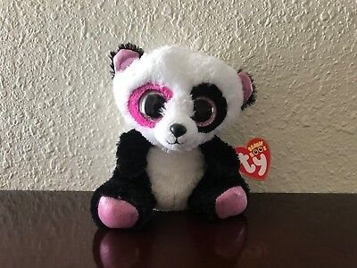 "Retired *Penny* 2013 Ty Beanie Boo ~6"" Panda~Cute!~Exclusive~MWMT!! WOW!!"