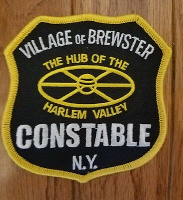 Village of Brewster, NY Constable police patch