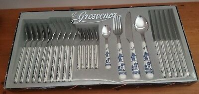 New/Old Grosvenor Cutlery Set 24 piece Boxed never used-Made In Japan