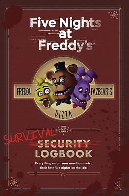 Five Nights at Freddy's Survival Logbook by Scott Cawthon  Computers Hardcover
