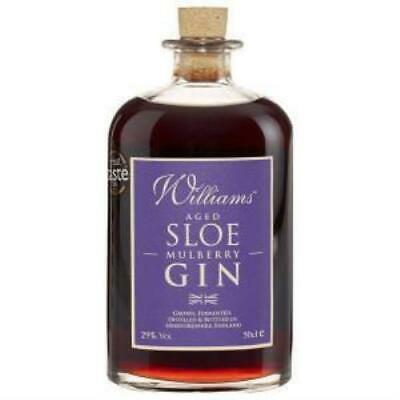 William Chase Sloe & Mulberry Gin 500ml