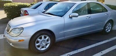 2000 Mercedes-Benz S-Class  Under 70,000 total miles. Fully serviced and like new interior and exterior.