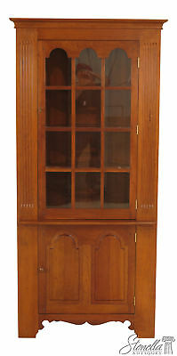 46376EC: STICKLEY Cherry Valley Corner China Cabinet