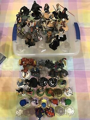 Disney Infinity Complete 3.0 Figures Playsets Case Light FX Toybox Expansions