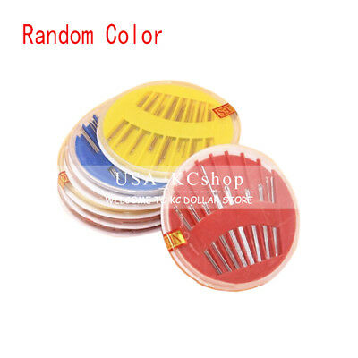 New 30pcs Assorted Hand Sewing Needles Case Embroidery Tailoring Mending Craft