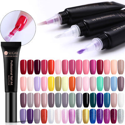 UR SUGAR 60 Couleurs UV Vernis à ongles gel Top Base Coat Gel Manucure 8ml