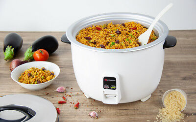 8L Kitchen 2650W Electric Automatic Non Stick Rice Warmer Cooker Cook Pot Warm