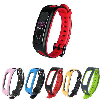 Silicone Replacement Smart Wrist Band Strap For Huawei Honor Band 4 Running