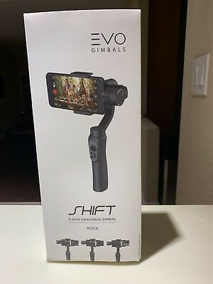 EVO SHIFT 3 Axis Handheld Gimbal for iPhone & Android Smartphones & Action Cams
