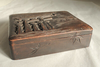 Japanese Old Wooden Small Box