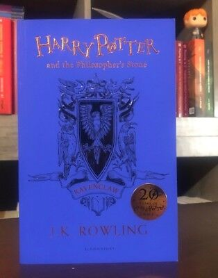 Ravenclaw Ed. Harry Potter and the Philosopher's Stone SC JK Rowling