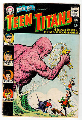 Brave and The Bold #60 - 1st Teen Titans title. 1st Wondergirl (Donna Troy) TV