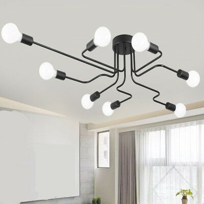 Ceiling Lights Luminaria Led Ceiling Lamp Light Vintage Industrial Loft