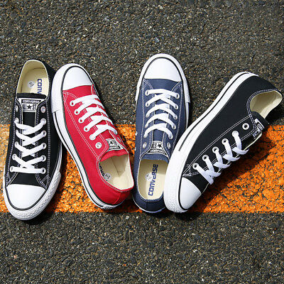 UK Converse Men Women All Star Low Tops Chuck Taylor Trainers Casual Shoes Hot