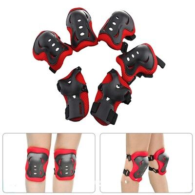 6pcs/set Skating Protective Gear Sets Elbow Knee Pads Wrist Protector Protection