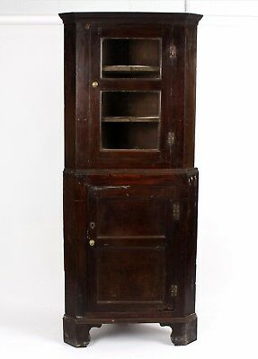 As Found Early18th Century Welsh Oak Cupboard Wonderfully Distressed And Patina