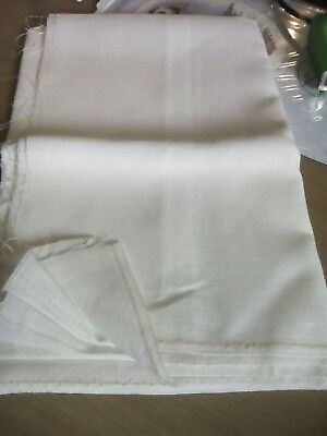 Linen Evenweave 36 count ivory