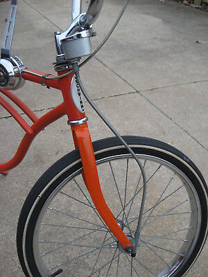 "Huret/Schwinn Stingray Vintage Speedometer SET! W/Head&Bracket,Cable,20"" Drive!"