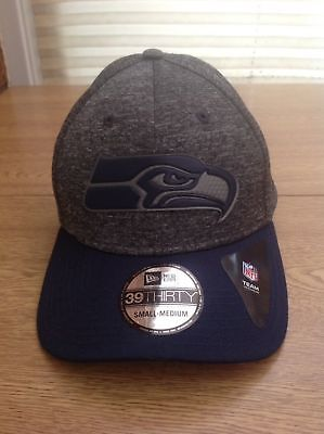 b9b960e08f2 New Seattle Seahawks New Era NFL Stretch Fit Cap 3930 Shadow Pop  Medium Large