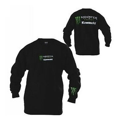 Sweat-shirt Monster Kawasaki Noir - taille XL