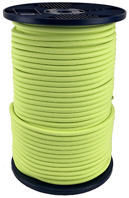 FLUORESCENT BUNGEE CORD Bungie Elastic Rope Shock Cord Flexible Abrasion Stable
