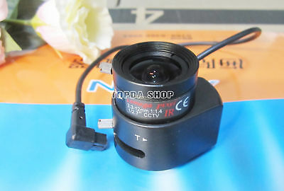 1PC FUGuang RV03312D.IR 3.3-12mm Auto aperture infrared IR camera lens#SS