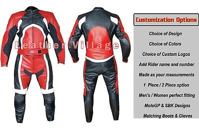 Motorbike Leather Suit Custom Made Motorcycle Racing Leather Suit All Sizes