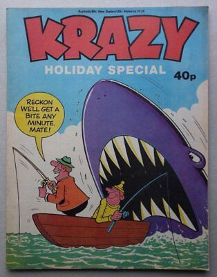 Krazy Holiday Special comic 1979 FN (phil-comics)