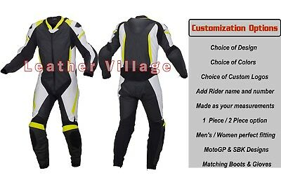 New 2018 Custom Design Motorbike Motorcycle Racing Leather Suit All Sizes