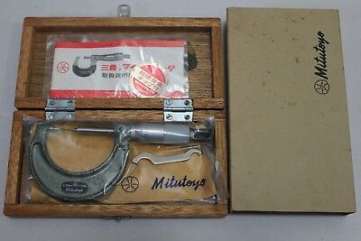 Mitutoyo Micrometer pointed tip 0-25mm 112-165 , CPM15- 25W ,Made in Japan