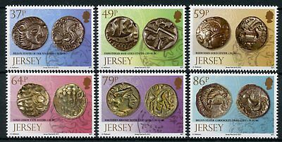 Jersey 2011 MNH Archaeology II Buried Treasure Coins 6v Set Numismatics Stamps