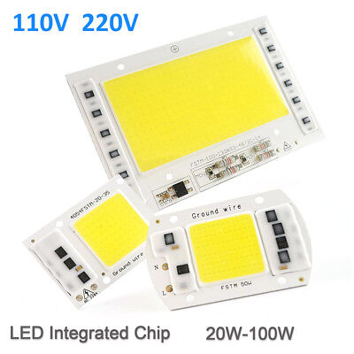 220/110V 20/30/50/100W Full Spectrum LED COB Chip Grow Light Plant Growing Lamp