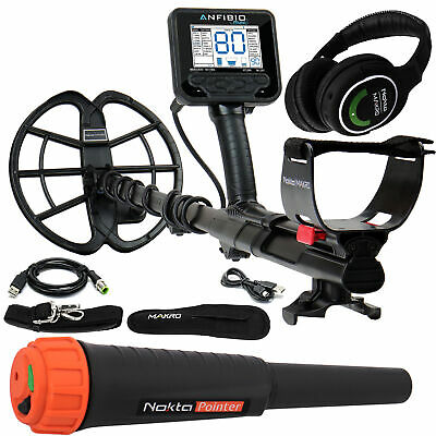 Nokta Makro Anfibio Multi Underwater Metal Detector w/ Headphones and Pinpointer