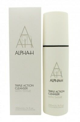 Alpha-H Triple Action Cleanser  - Women's For Her. New. Free Shipping