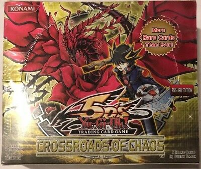 Yugioh Crossroads Of Chaos Unl Edition 24-count Booster Box Card Game TCG