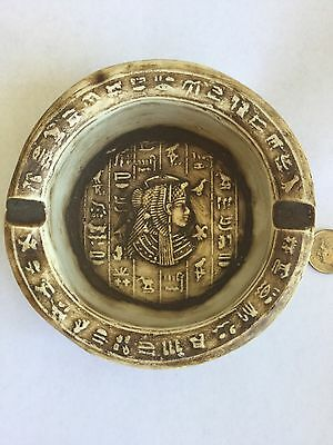 Unique Vintage Egyptian Antique Pharaoh,Cleopatra,Hieroglyphics Handmade N Egypt